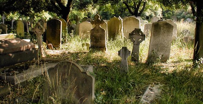 cimitero epoca vittoriana