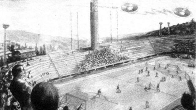 ufo fiorentina pistoiese 1954