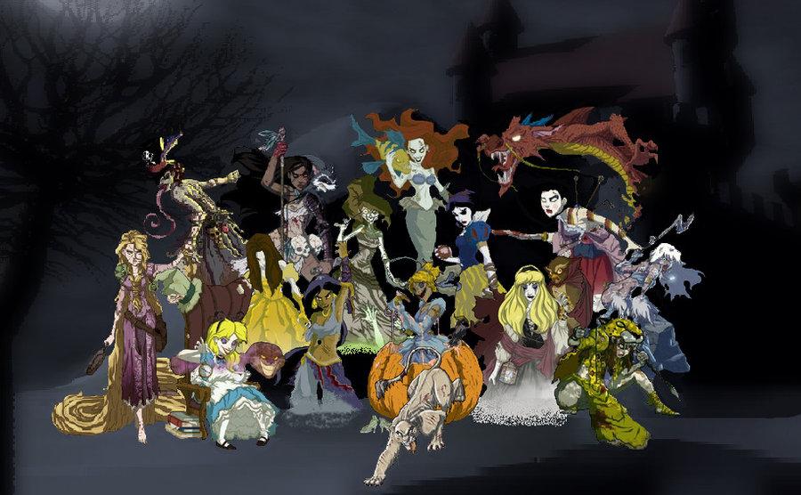 I veri finali horror dei cartoni Disney